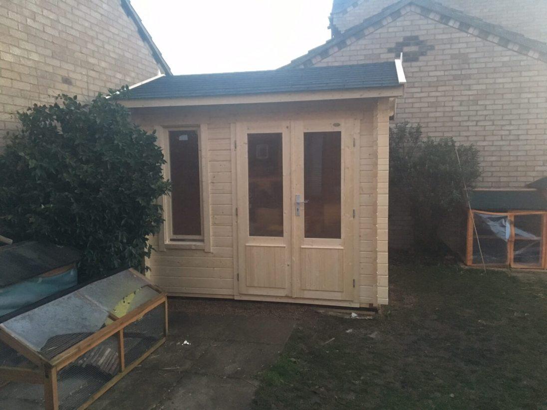 alex mini completed cabin