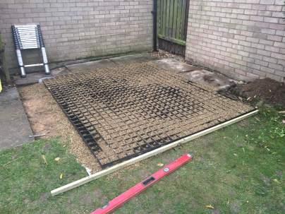 Alex Mini Log Cabin Install