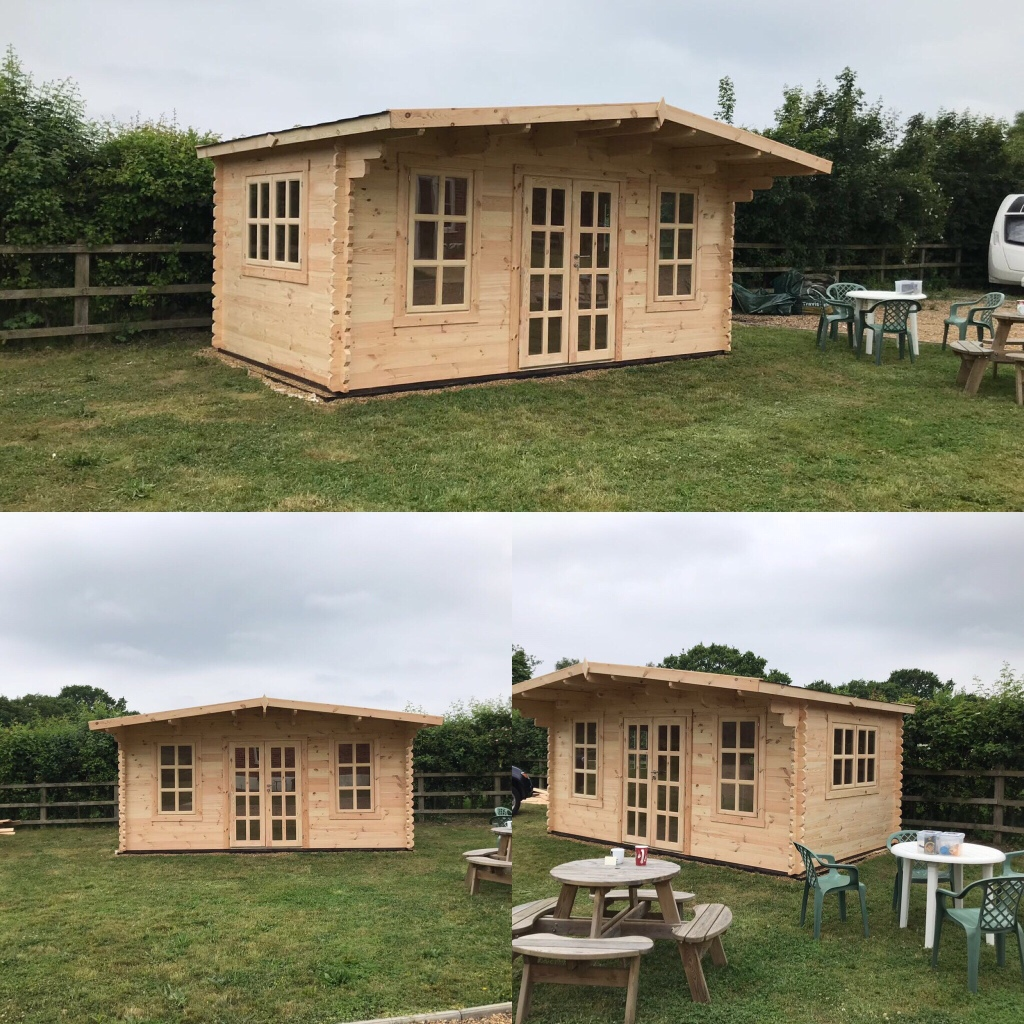 Eurovudas York Log Cabin from Cabins Unlimited