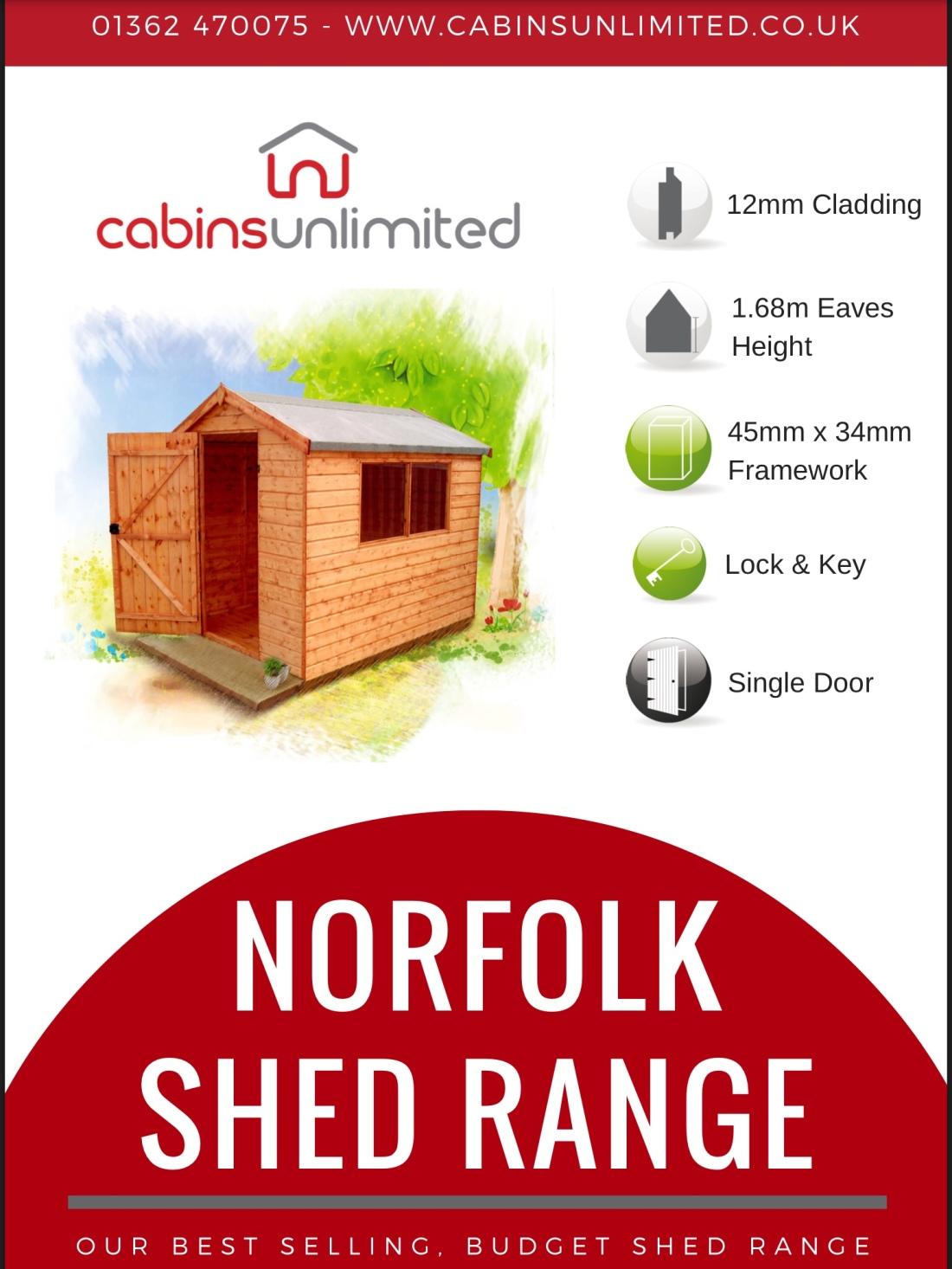 Norfolk Shed Range