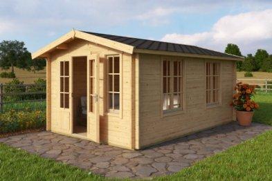 Alexandra log cabin