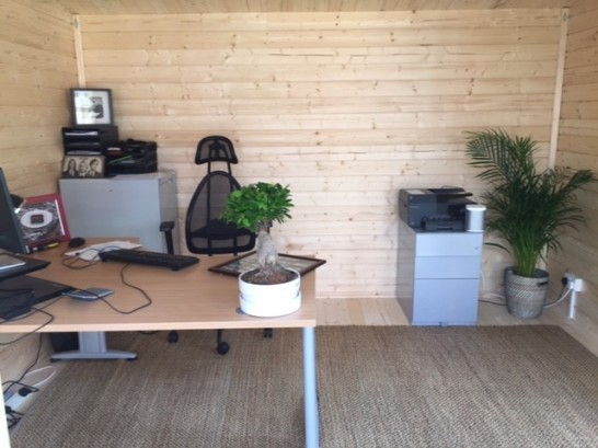 Barbados home office