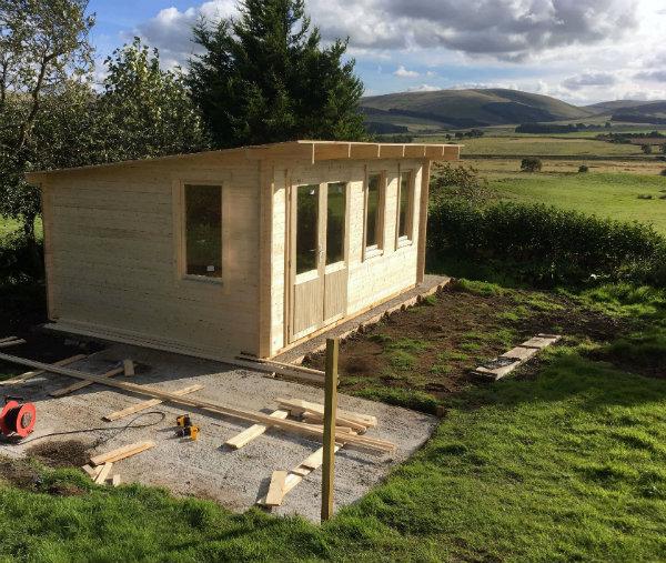 Baruda 53 log cabin