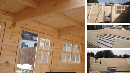 building-a-log-cabin