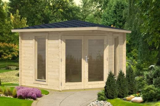 Edinburgh Corner Log Cabin
