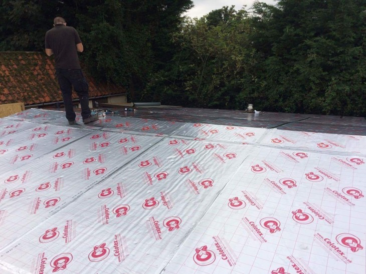 kristi-11x6m-log-cabin-roof-insulation