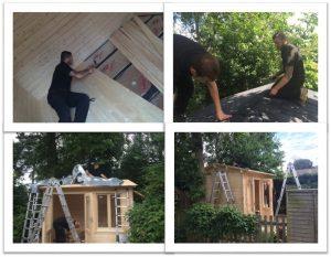 Log Cabin Installation in Norfolk