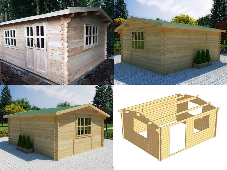 rumbus plus 2 log cabin