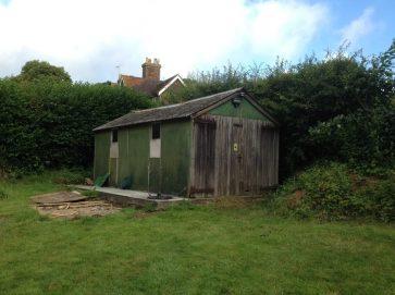 timber garage replacement