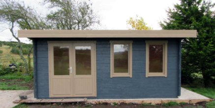 treated baruda 53 log cabin