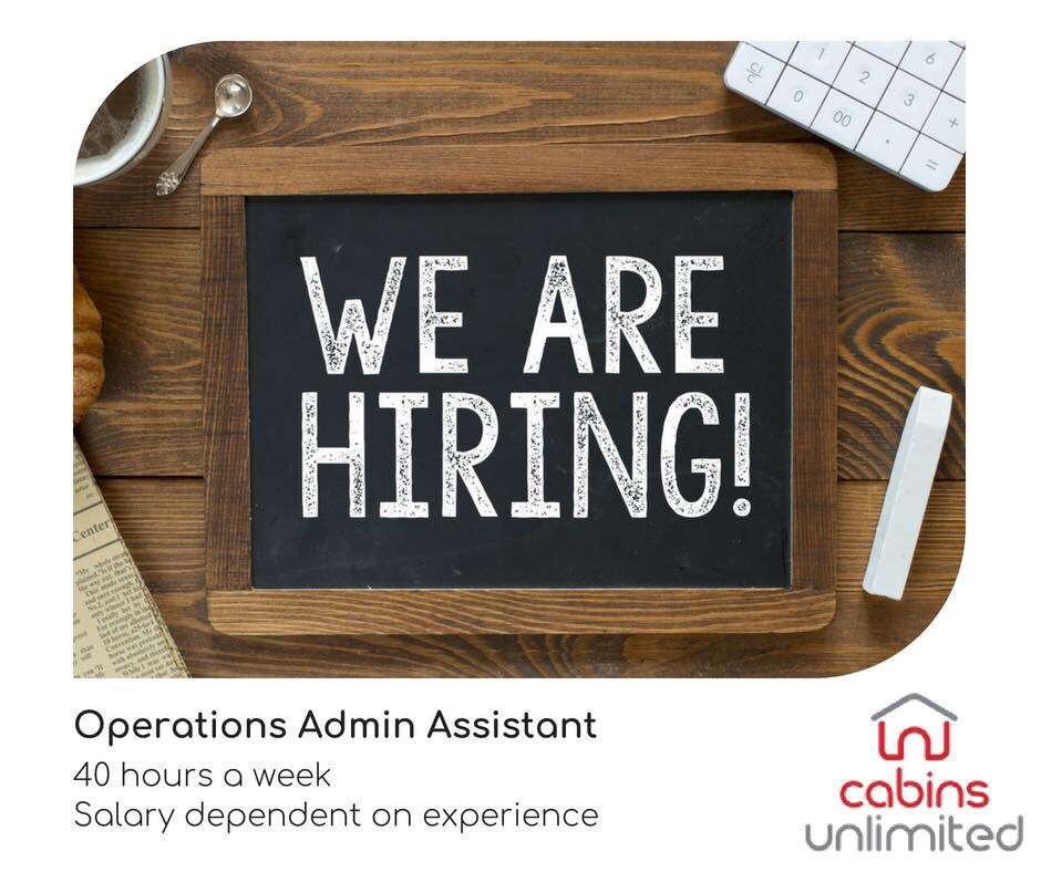 We are Hiring an Operation Team Admin Assistant